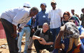 Deputy SRSG de Clercq assesses humanitarian crisis in Somalia's South West state